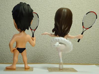 フルオーダーブライダルそっくり人形事例 バレイ&水着フィギュア