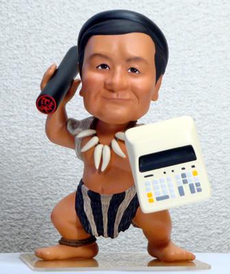 そっくり人形 フルオーダー製作事例 還暦社長