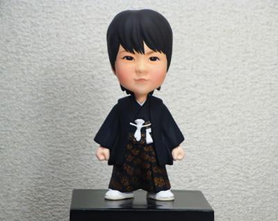そっくり人形ミーニ イージーオーダー 子供袴着 オプション貯金箱