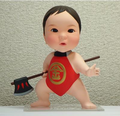 お子様そっくり人形 金太郎