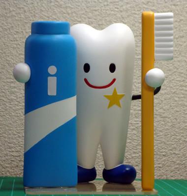 歯医者さん開業記念キャラクタフィギュア