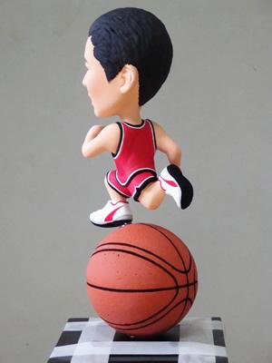 そっくり人形側面 バスケ衣装