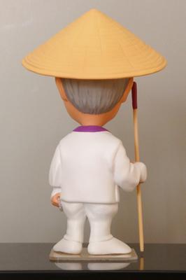 お遍路さん衣装イージーオーダーそっくり人形 背面