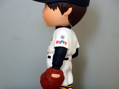 野球ユニフォームそっくり人形サンプル