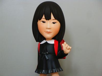 お子様入学記念そっくり人形 正面