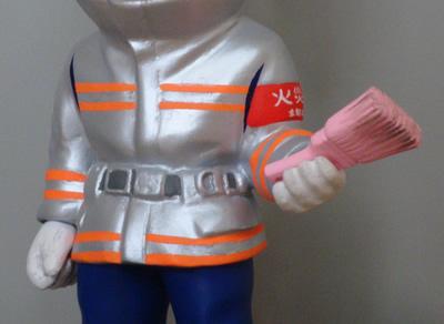 ミーニイージーオーダー消防士オプション製作画像