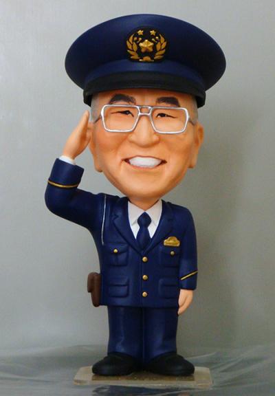退職記念フィギュア 警察官