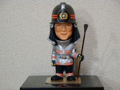 退職記念 消防士フルオーダー