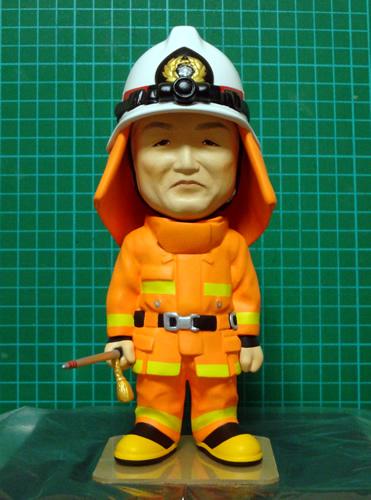 工房空良 オーダーメイドフィギュア 製作事例 消防士さん