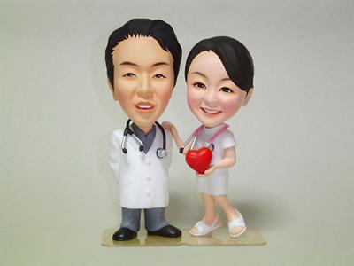 そっくり人形製作事例 ドクター&ナース