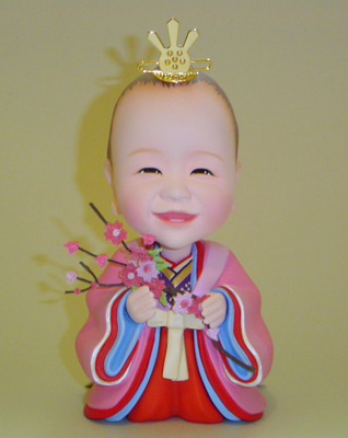 桃の節句記念 お姫様 そっくり人形