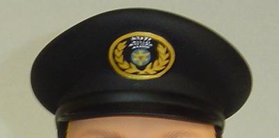 ミーニフルオーダー事例 京都バス運転手さん 帽子